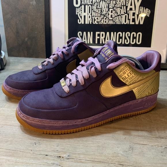 Nike Air Force 1 Supreme 07 Jamaal Wilkes Sneaker